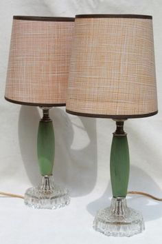 Antique jadite table lamp with double banjamin sockets to rewire 1930s vintage dresser lamps jadite green celluloid greentooth Image collections