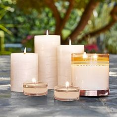 PartyLite Partylite, Pillar Candles, Candles, Decorating