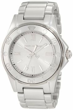 Juicy Couture Women's 1900887 RICH GIRL Silver Aluminum Bracelet Watch Juicy Couture. $169.95. Tonal Dial. Oversized Round Case. Lightweight Material. Aluminum Case and Bracelet. Sizeable Bracelet. Save 32% Off!
