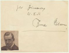 Thomas Mann Autograph. Authentic Signature from 1932 from curioshop on Ruby Lane