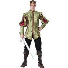 Renaissance Adult Prince Outfit Costume Get up to 15% When you spend $50 at Buy Costume using Coupons and Promo Codes.