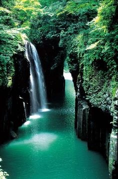 Takachiho Gorge, Miyazaki, Japan photo via sharon | See more about home sweet, miyazaki and japan.