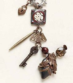 Steampunk Project: Sassy Sisters bracelet design by Jean Campbell