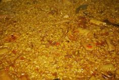 "El Mundo de Pepe Hermano: RECETARIO ""COCINILLAS"" (II) ARROZ A BANDA Chili, Soup, Beef, Seafood Paella, Rice, Sash, Brother, Meat"