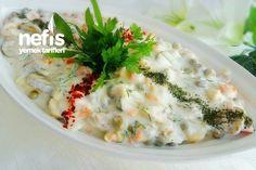 Tavuklu Garnitürlü Soğuk Salata