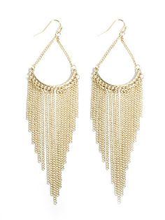 Tassle Fish Hook Earrings