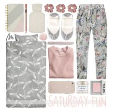 """""""my kind of fun"""" by foundlostme ❤ liked on Polyvore featuring Falke, L. Erickson, H&M, Deborah Lippmann, Pure Collection, Sara Happ, Charlotte Tilbury, Yves Saint Laurent, Urban Decay and chill"""