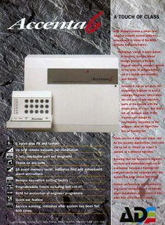 guardall countess vintage alarm systems pinterest rh pinterest com accenta 6 installation manual download