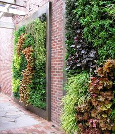 Stunning Vertical Garden for Wall Decor Ideas Do you have a blank wall? do you want to decorate it? the best way to that is to create a vertical garden wall inside your home. A vertical garden wall, also called… Continue Reading → Garden Fencing, Garden Landscaping, Garden Floor, Jardim Vertical Diy, Garden Ideas To Make, Diy Garden, Green Garden, Planter Garden, Lavender Garden