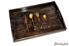 Kitchen tray, unique handmade
