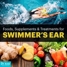 Swimmer's ear - Dr. Axe http://www.draxe.com #health #holistic #natural