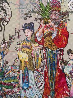 The World's Favorite 'Superflat' Artist Explores Japan's Terrifying Demons