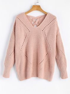 GET $50 NOW | Join Zaful: Get YOUR $50 NOW!https://m.zaful.com/sheer-criss-cross-v-neck-sweater-p_389661.html?seid=6c2oo776qs4lh10vjht2fgi587zf389661