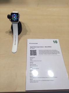 APPLE WATCH jetzt bei microspot.ch kaufen! Sport Watches, Apple Watch, Smart Watch, News, Shopping Mall, Shopping, Smartwatch