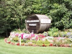 Near the Wisconsin Dells a beautiful winery and great wine!!