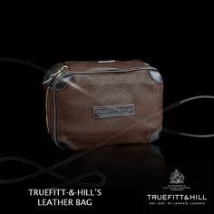 Truefitt & Hill's leather bags are designed to add that extra special touch to your grooming and lifestyle experience.