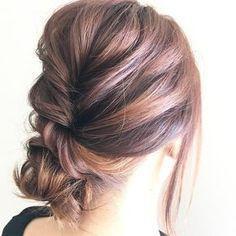New hair styles easy headband ideas Elegant Hairstyles, Easy Hairstyles, Wedding Hairstyles, Asian Hair Growth, Hair Arrange, Headband Hairstyles, Bridesmaid Hair, Gorgeous Hair, New Hair