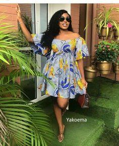 Short African Dresses, Ankara Short Gown Styles, Latest African Fashion Dresses, African Print Dresses, African Print Fashion, Ankara Gowns, Ankara Dress, African Print Dress Designs, Ankara Designs