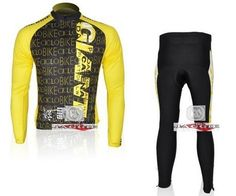 32.79$  Watch more here - http://ai81l.worlditems.win/all/product.php?id=2045565572 - 2011 GIANT CICLO TEAM cycling wear clothes tights bicycle MTB Road bike riding long sleeve jerseys + Z123 sets yellow