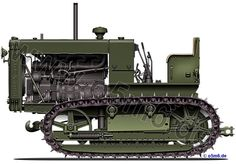 Engines of the Red Army in WW2 - Heavy Tractor Stalinez - ChTZ S-65