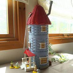 Moomin, Quilling, Weaving, Basket, Diy Crafts, Holiday Decor, Handmade, Inspiration, Home Decor