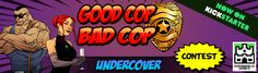 """Overworld Games """"Good Cop Bad Cop: Undercover"""" Giveaway! Ends February 23, 2016."""
