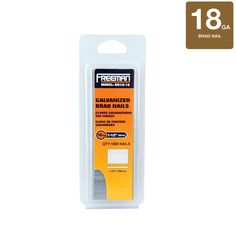 Freeman 1-1/2 in. 18-Gauge Brad Nails 1000 per Box $2.90