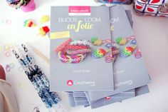 ♥ Mon nouveau livre : Bijoux Loom en folie ♥ | Poulette Magique Pop, Baby Newborn, Madness, Creative Crafts, Bijoux, Magic, Popular, Pop Music