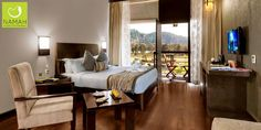 A room that offers more than just comfort. A place to indulge in the pristine beauty of the Himalayas.