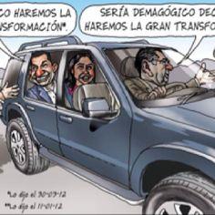El trazo de Carlin sobre 'la gran transformacion' del gobierno de Ollanta Humala.