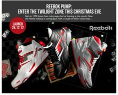 REEBOK PUMP: ENTER THE TWILIGHT ZONE THIS CHRISTMAS EVE