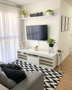 Home Room Design, Living Room Designs, Living Room Decor, Indian Bedroom Decor, Indian Home Decor, Small Apartment Interior, Apartment Bedroom Decor, Tv Unit Furniture, Classy Living Room