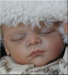 "NEW ?Bluebonnet Babies? REBORN Baby Boy ""LINUS"" ?SOLD OUT? by Gudrun Legler"