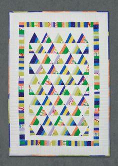Детское лоскутное одеяло. Patchwork baby quilt