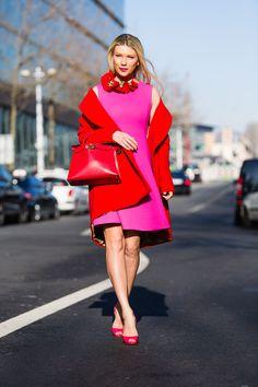 Street style à la Fashion Week de Paris 2014 : les plus beaux looks de rue d'hiver