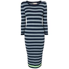 Boutique by Jaeger Lurex Striped Dress,