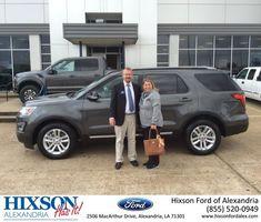 Congratulations Christy on your #Ford #Explorer from Joel Massey at Hixson Ford of Alexandria!  https://deliverymaxx.com/DealerReviews.aspx?DealerCode=UDRJ  #HixsonFordofAlexandria