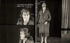 Vintage Faces Of Crime! Women's Mugshots from the 1920s
