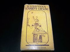 ANTIGUA BARAJA Baraja de cartas del tarot Egytian Tarot deck