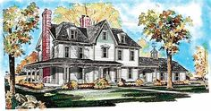 Eplans Victorian House Plan - Gothic Victorian - 3565 Square Feet and 5 Bedrooms(s) from Eplans - House Plan Code HWEPL00509