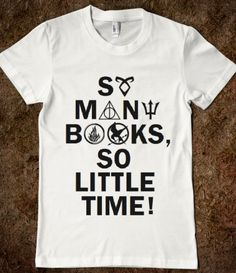 Love this one too. TMI, HP, Percy Jackson, Divergent, Hunger Games