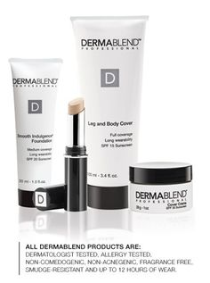 Ive been using Dermablend since the early 80s. This stuff will cover ANYTHING--seriously. Vitiligo, Rosascea, acne scars, tattoos, dark circles under your eyes. Best cover-up ever. Tons of videos at the website showing before  after and how to put it on.