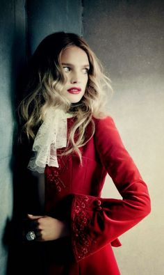 Natalia Vodianova for Vogue Russia Dec. 2014