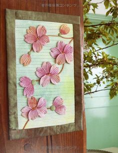 Quilt blooming - to make with 3D applique and quilting Boutis