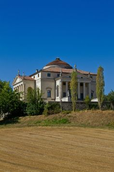 Andrea Palladio - Villa Almerico Capra (La ROTONDA) Sec. XVI  Vicenza, Italy