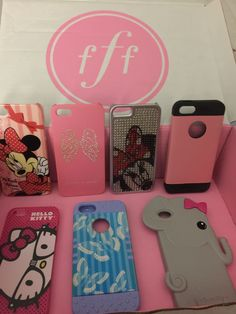 Miscellaneous cases, VS, Minnie Mouse, Hello Kitty all up for swap