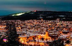 #Sundsvall #sky #city