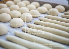 Wooden Tray of Soft Rolls and Buns
