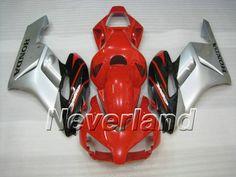 Carenado de ABS de Honda CBR 1000RR 2004-2005 - Rojo/Negro
