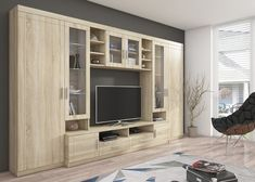 Paris living room furniture set entertainment stand tv unit cabinets and shelves Diy Furniture Nightstand, Tv Unit Furniture, Living Room Furniture, Furniture Sets, Paris Living Rooms, Living Room Paint, Home Staging, Design Your Home, Home Interior Design